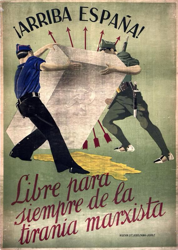 Spain Civil War Nationalist Propaganda