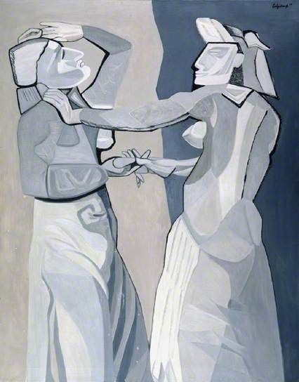 Dancers Rehearsing, 1958 by Robert Colquhoun (1914-1962)