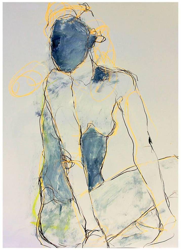 Jylian Gustlin, Ad Lucem IX - Contemporary Artist - FIgurative Painting