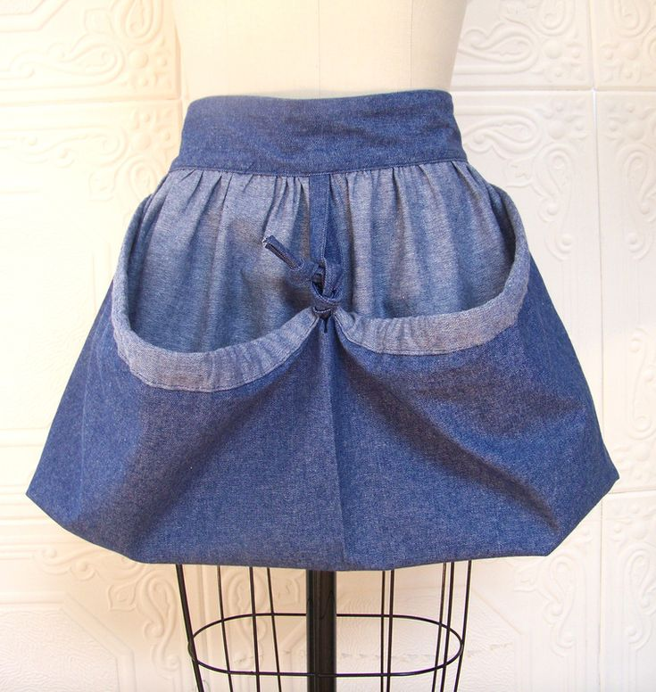 Harvest Bag Garden Apron Of Lightweight Denim! Perfect For Collecting My  Eggs U0026 Veggies!