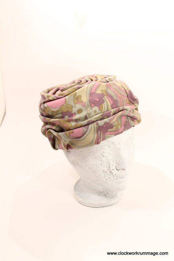 Turban Style Vintage Hat Turban Hat Womens Hat by ClockworkRummage, $25.00