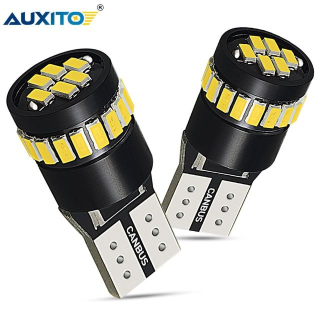 2x T10 W5W Canbus Parking Light LED Bulb For For Volkswagen VW Passat B5 B6 CC