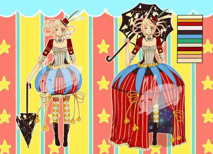 Circus Adoptable [AUCTION-CLOSED] by homeless-adoptable on DeviantArt (made by Vidma-chan, owned by SeiChuu)