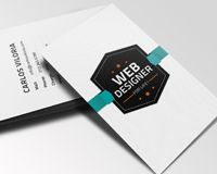Free download: Retro Business Card PSD | Webdesigner Depot