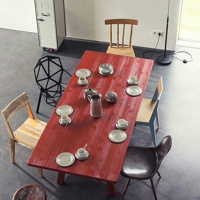 Let's get started with coffee!! Stijl Table by Richard Lampert  #designbest #currentmood #monday