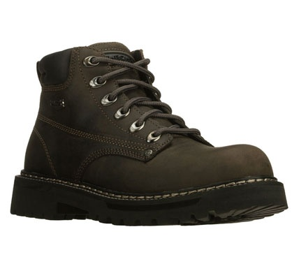 Skechers mens cool cat bully 2 lace-up boots - grey  £51.00