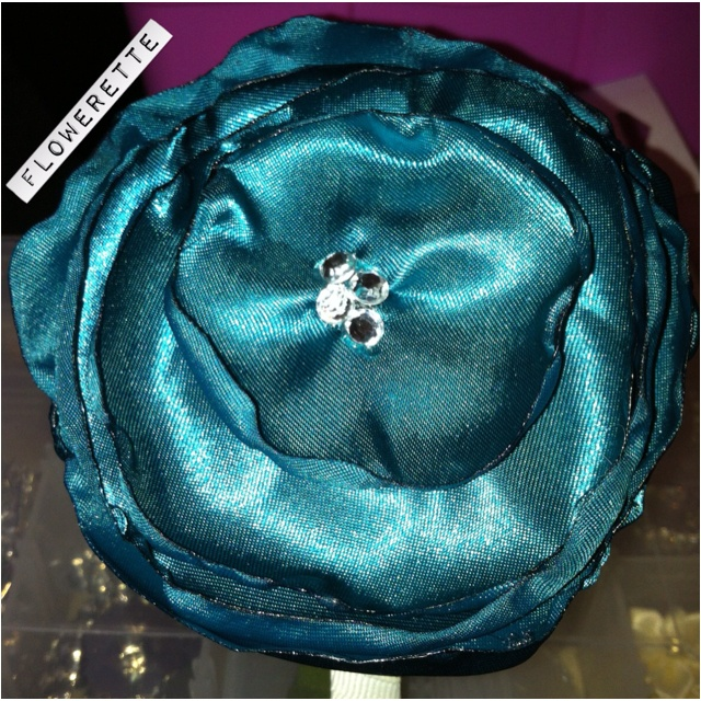 Singed flower headband - designed & handmade by me www.facebook.com/floweretteau