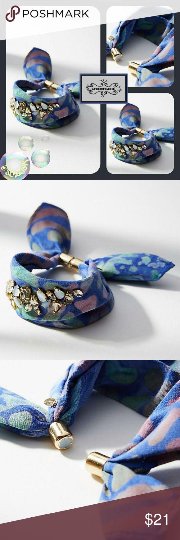 Spotted while shopping on Poshmark: Anthropologie Embellished Bandana Bracelet! #poshmark #fashion #shopping #style #Anthropologie #Jewelry
