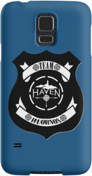 Haven Syfy Inspired Phone Cases/Skins |   Haven Team Wuornos Police Badge Black Logo | Snap Cases,Tough Cases, & Skins for Galaxy S3-S4-S5-S6-S6 Edge-S6 Edge Plus-S7-S7Edge | iPhone 4s/4 5c/5s/5 6/6Plus SE/5s/5 & iPhone Wallets **All designs available for all models.