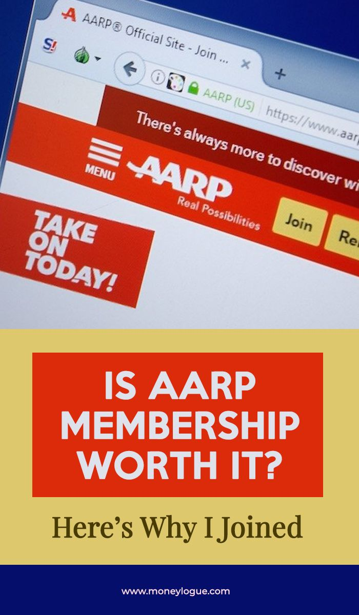 I Always Thought Aarp Is For Old And Retired Persons Now At 50
