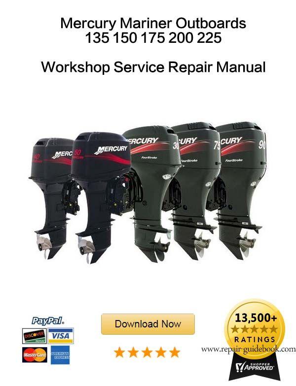 Mercury outboard repair manual pdf | Mercury 40 / 50 / 60 Hp