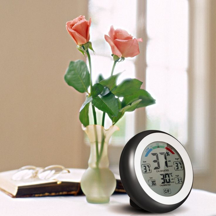 Only US$7.99, °C/°F Digital Thermometer Hygrometer Temperature Humidity - Tomtop.com