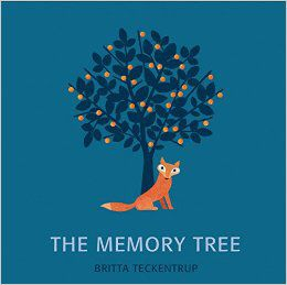 The Memory Tree, text and illustrations by Britta Teckentrup Designed by Sophie Stericker
