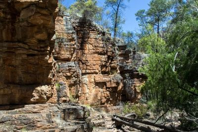 Alligator Gorge is near Willmington in South Australia and located in the Mt Remarkable National Park.  We always stop there on the way to the Flinders Ranges.