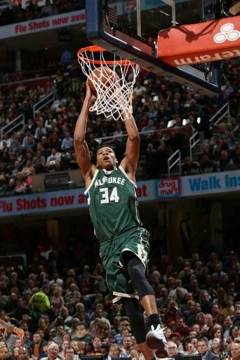 Giannis Antetokounmpo Doing What He Does Best