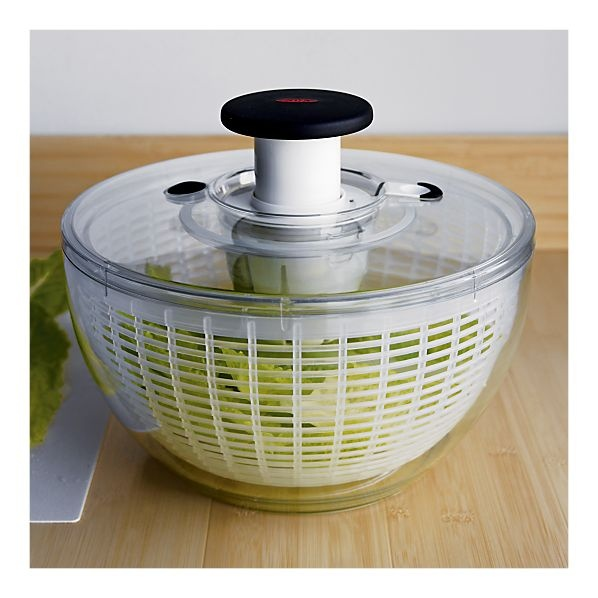 how to clean oxo salad spinner lid