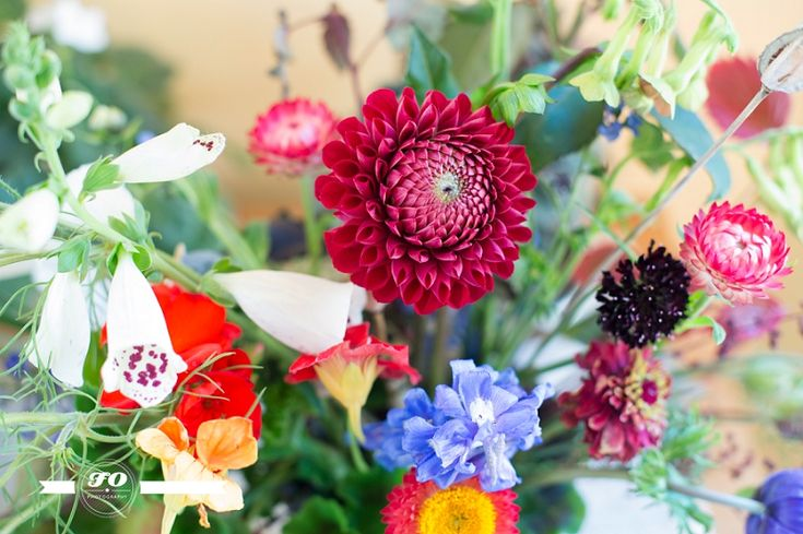 Stunning floral arrangements by Amy Sanderson Flowers for weddings and events