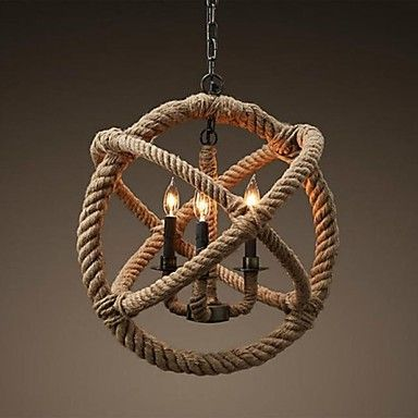 Pendant Lights Traditional/Classic/Rustic/Lodge/Vintage/Retro/Country Living Room/Bedroom/Dining Room/Study Room/Office/Hallway Metal – EUR € 95.95