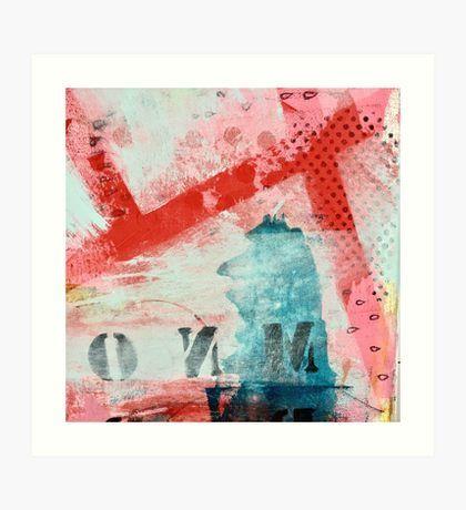 Across - by Kari Anne Marstein Art Print