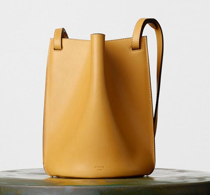Celine-Mini-Pinched-Bag-Yellow-1850 | bags | Pinterest | Celine ...