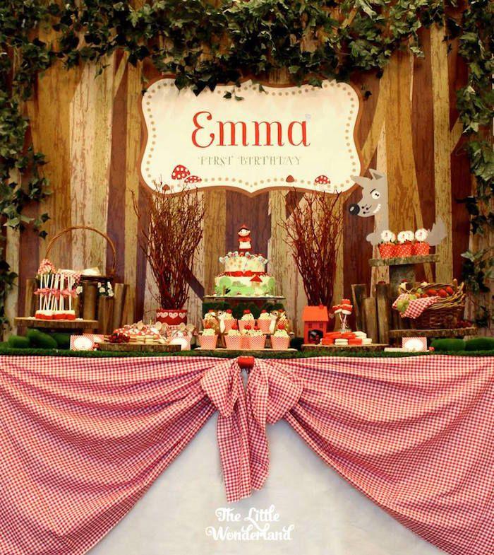 Festa de Aniversário | Emma | Chapeuzinho Vermelho