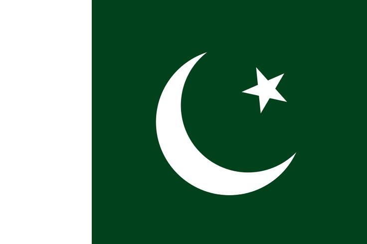 Flag of Pakistan - Galeria de bandeiras nacionais – Wikipédia, a enciclopédia livre
