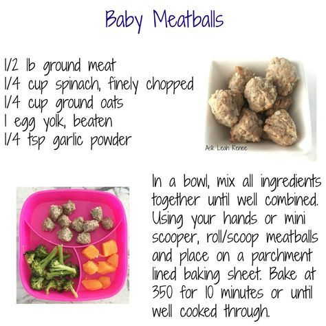 What I Feed My 8 To 12 Month Old