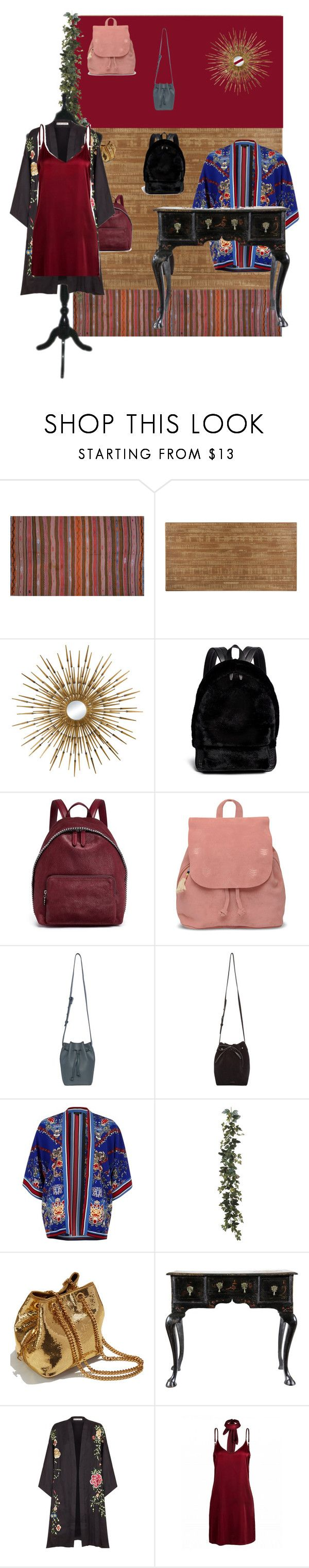 """ngequhntkotr"" by anaunderground on Polyvore featuring moda, Orientalist Home, Lazy Susan, Alexander Wang, STELLA McCARTNEY, TOMS, French Connection, Mansur Gavriel, River Island e Yves Saint Laurent"