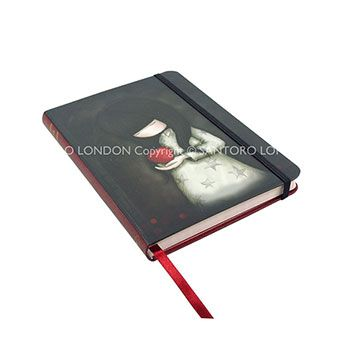 Σημειωματάριο Santoro gorjuss – Dusk με λάστιχο 230EC18