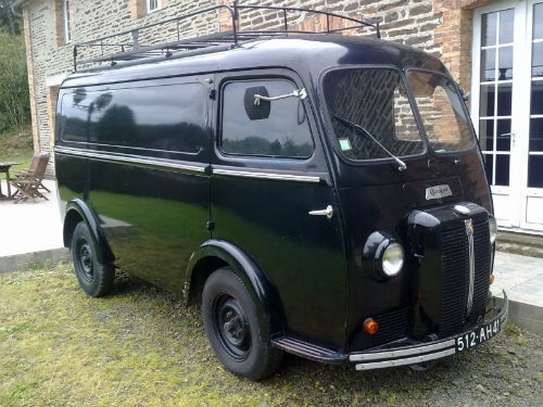 now sold peugeot d3a camionette 1954 peugeot. Black Bedroom Furniture Sets. Home Design Ideas