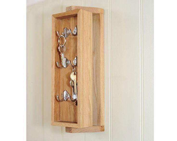 Storage Oak Key Box 2