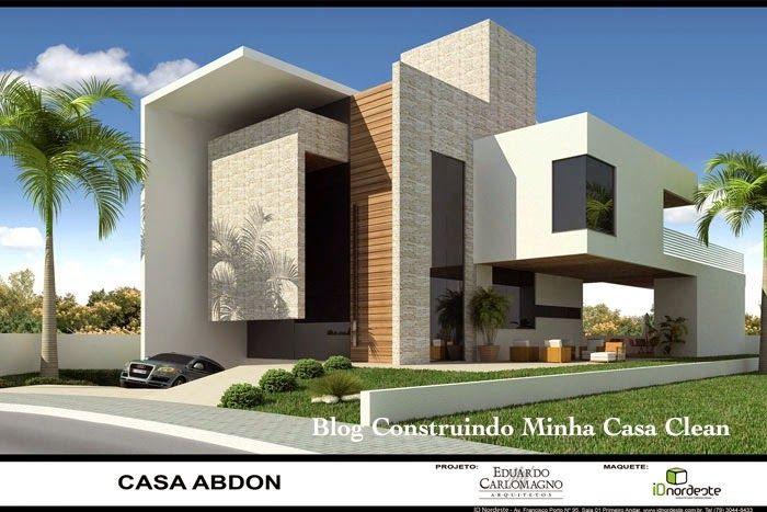 302 best casas contemporaneas contemporary houses images - Fachadas casas contemporaneas ...