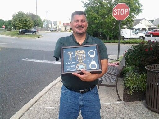 NJ DOC Correction Officer shadow box | Shadow boxes | Pinterest ...