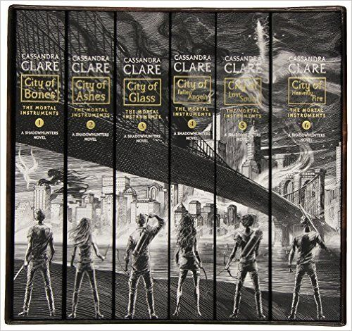Amazon.com: The Mortal Instruments, the Complete Collection: City of Bones; City of Ashes; City of Glass; City of Fallen Angels; City of Lost Souls; City of Heavenly Fire (9781481444439): Cassandra Clare: Books