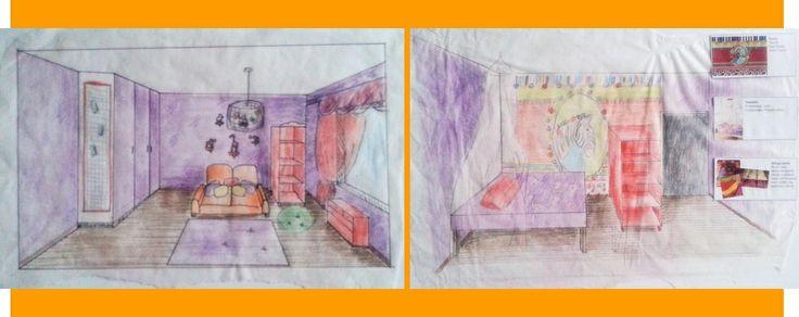Värikkään lapsen värikäs huone