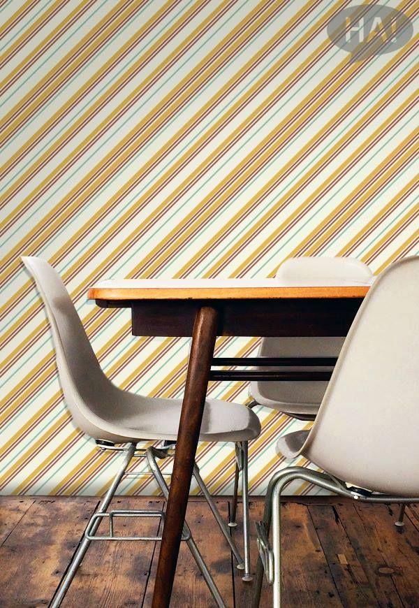 Διακοσμήστε με ρετρό μοτίβα τους τοίχους!  Ταπετσαρία τοίχου: http://www.houseart.gr/image-gallery/motiba/281  #houseart #patterns #ταπετσαρίες #ρετρό #διακόσμηση #wallpaper