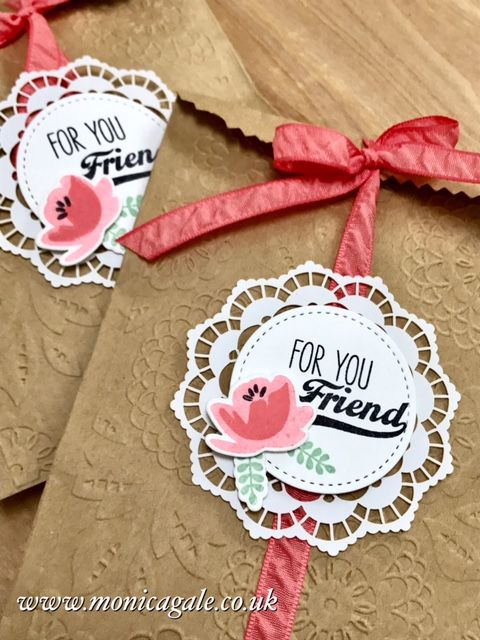 STAMPIN'UP! UK- Top UK Demonstrator Monica Gale-01405 862902-DN14 9QZ: Jar Of Love Friendship