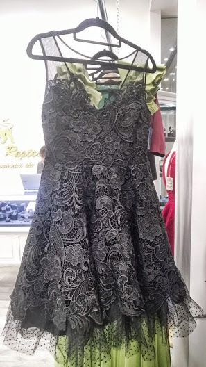 Black lace dress GO by Gabriella Olar