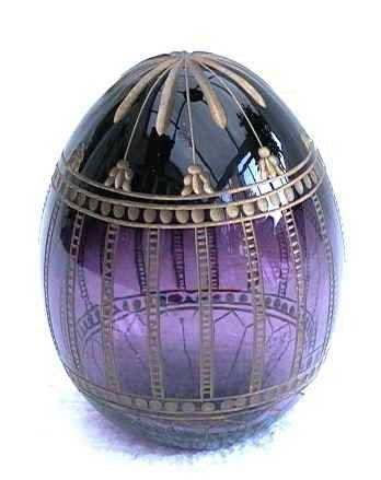 Fabergé - The story of the Fabergé egg began when Tsar Alexander III decided to give a jeweled Easter egg to his wife the Empress Marie Fedorovna, in 1885 to celebrate the 20th anniversary of their betrothal.