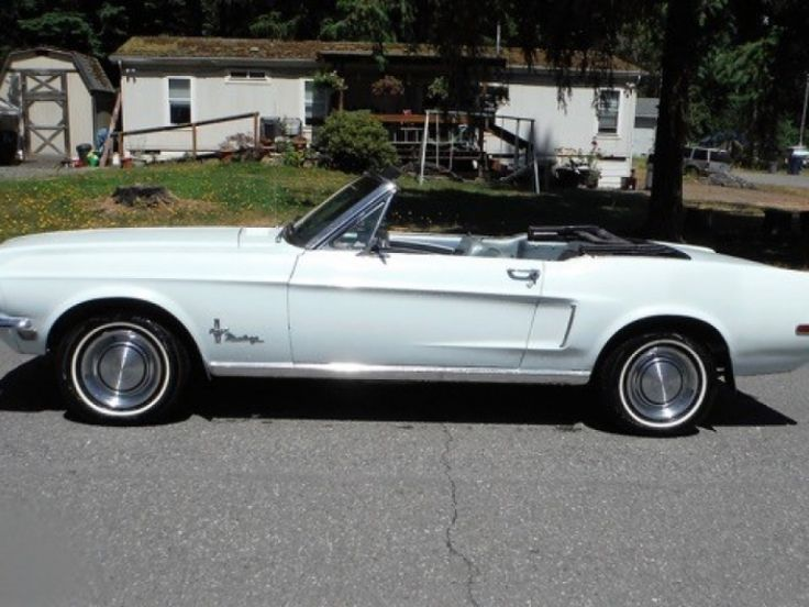 Ford Mustang convertible - 1968
