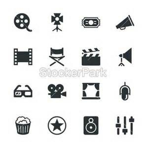 i like the third row second in film reel silhouette