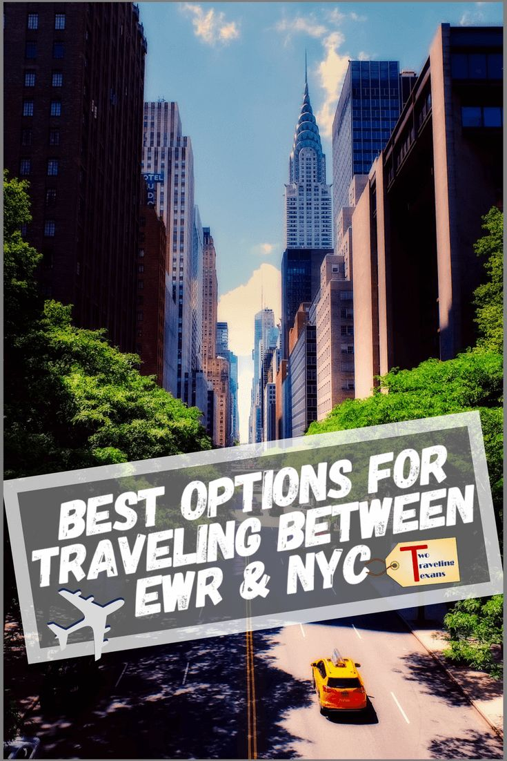 Find out the pros and cons of different options for traveling between Manhattan and Newark Airport (EWR) | Newark Airport to Manhattan | Newark Airport Car Service | Newark Airport Shuttle | Newark Airport Tips | EWR Airport | EWR to NYC | NYC Airport Transportation | NYC trip planning | NYC Transportation | #ewr #usa #gettingtoewrairport #traveltips #nyc #newyorkcity #nyctoewr #howtogettoewr #newarkairport via @2travelingtxns
