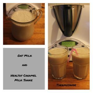 Lactose free Caramel Milkshakes