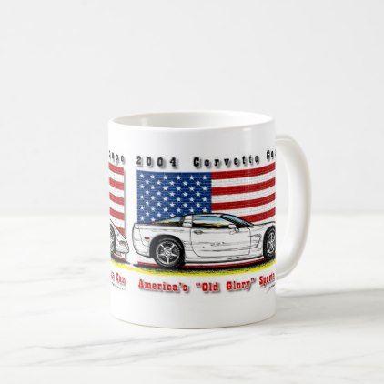 2004 Corvette Coupe Coffee Mug - home gifts ideas decor special unique custom individual customized individualized