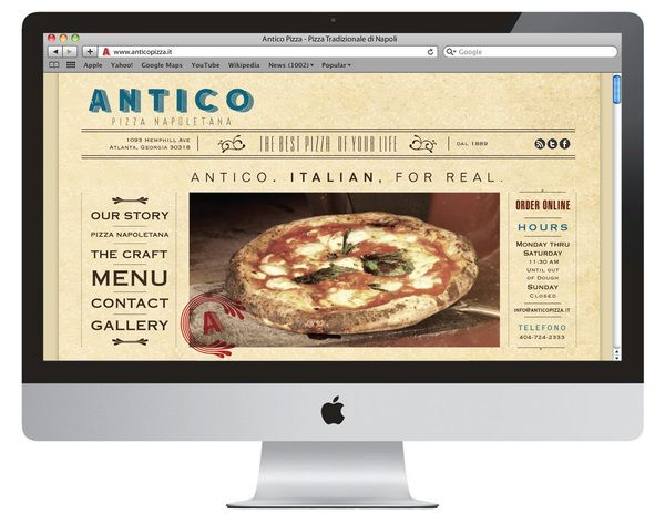 20 best pizza website images on pinterest website custom icons antico pizza napoletana pizza shop branding firefox browser template restaurant branding marketing and other pronofoot35fo Images