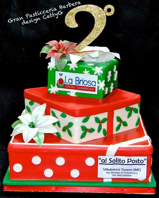 Le torte decorate di CettyG...: 2° Anniversario Centro Commerciale la Briosa (ME)