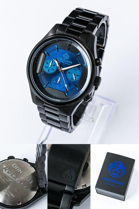 大人気CAPCOMタイトル『ロックマン』『魔界村』よりコラボアイテムが登場!ロックマン30周年を記念した腕時計、バックパック&魔界村をイメージした腕時計の3ラインナップとなっています!