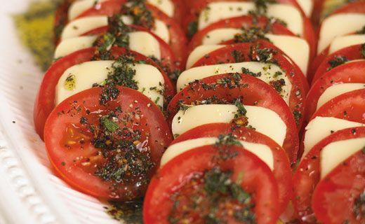 #Epicure Mozzarella and Tomato Antipasti #vegetarian