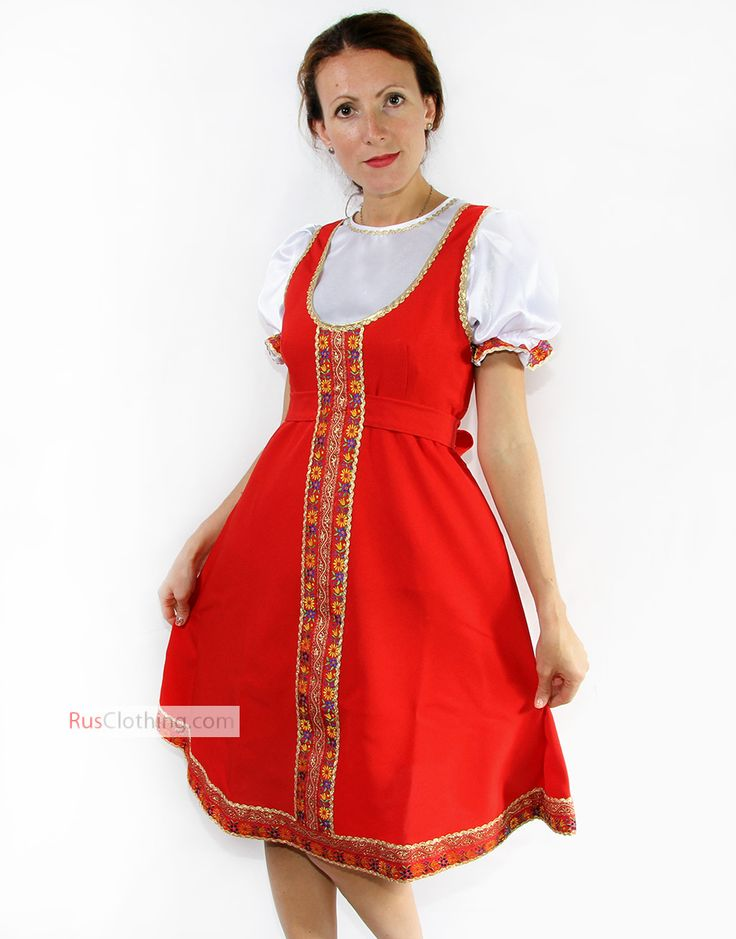 Folk Russian dance costume ''Allenka'' | RusClothing.com