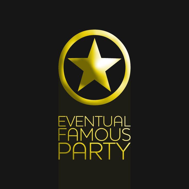 #Portfolio  Diseño de logotipo y branding para Eventual Famous Party.  #Hilarito #Logotipo #Logo #Diseño #DiseñoGráfico #Vector #Color #Logotype #Design #GraphicDesign #Branding #Marketing #Eventual #Famous #Party
